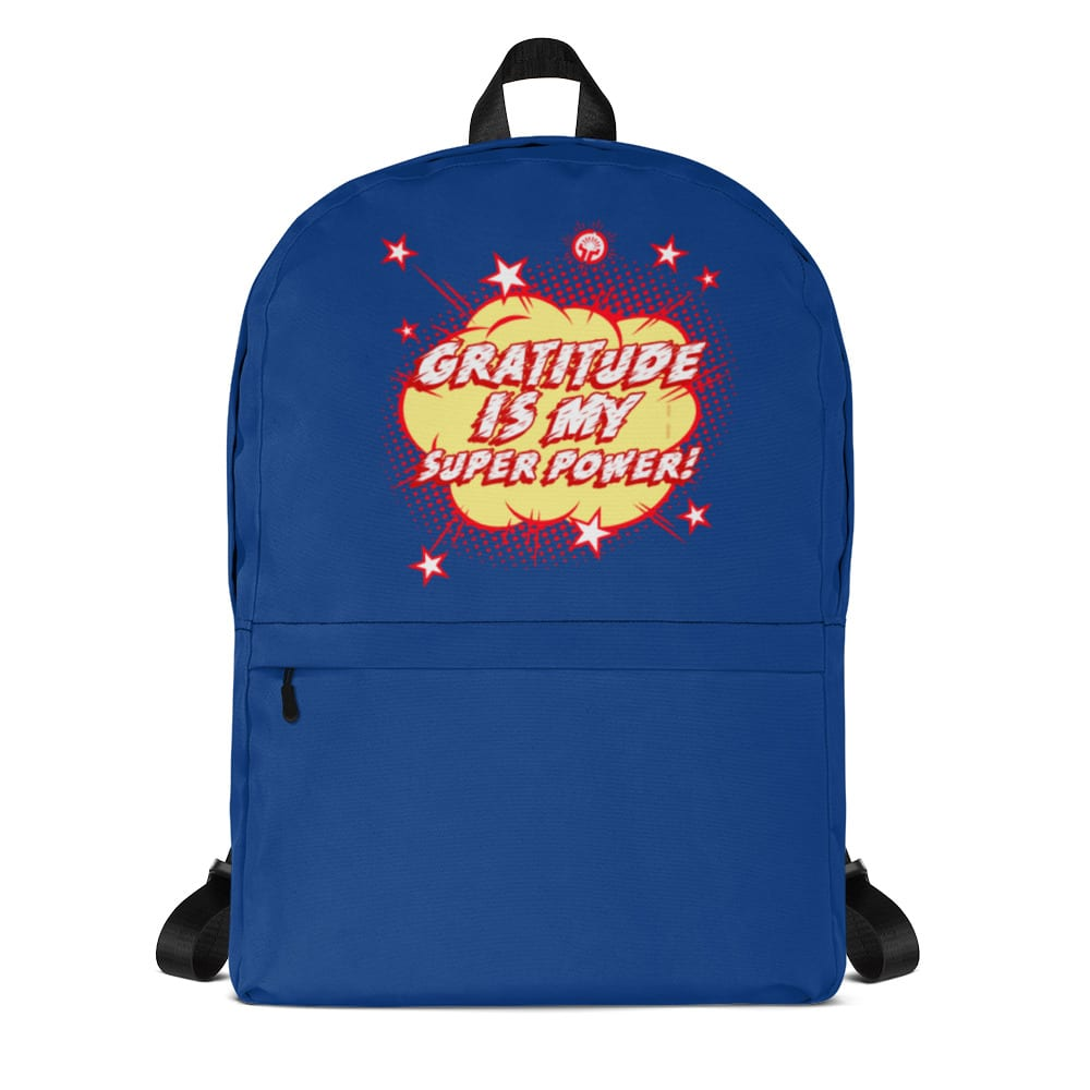 Gratitude is my Superpower Backpack