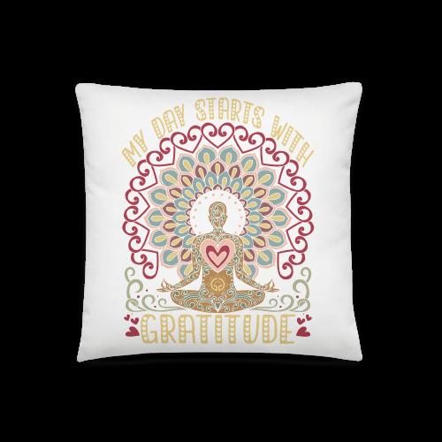 Gratitude Basic Pillow