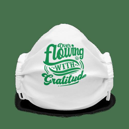 Gratitude Premium face mask