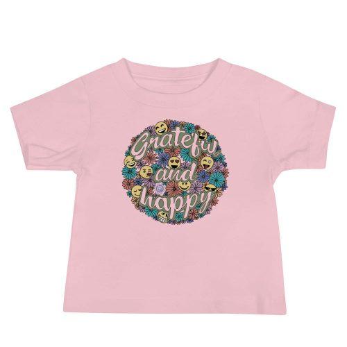 Grateful and Happy Baby Jersey Short Sleeve Tee