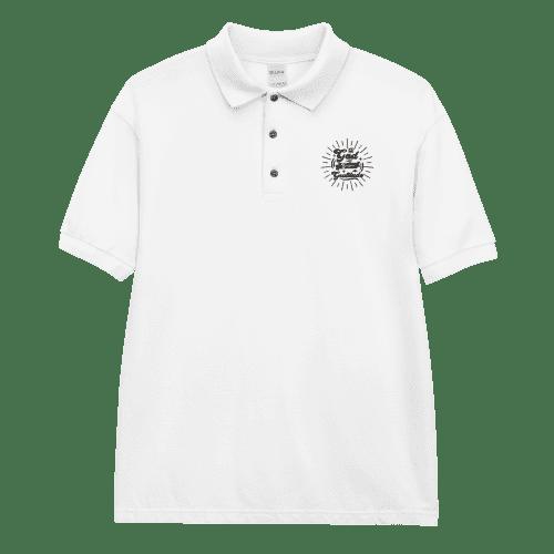 Gratitude Embroidered Polo Shirt