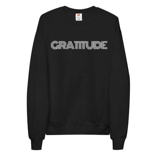 Stylish Gratitude Unisex fleece sweatshirt