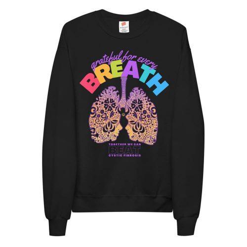 Grateful Cystic Fibrosis Unisex fleece sweatshirt