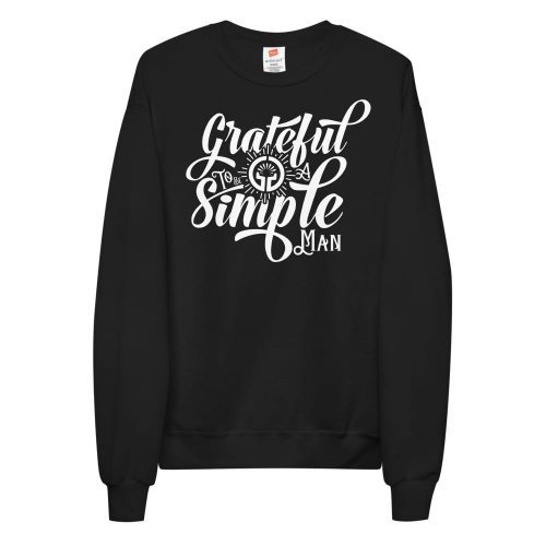 Simple Man Unisex fleece sweatshirt