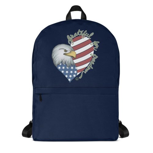 Grateful for Freedom Backpack