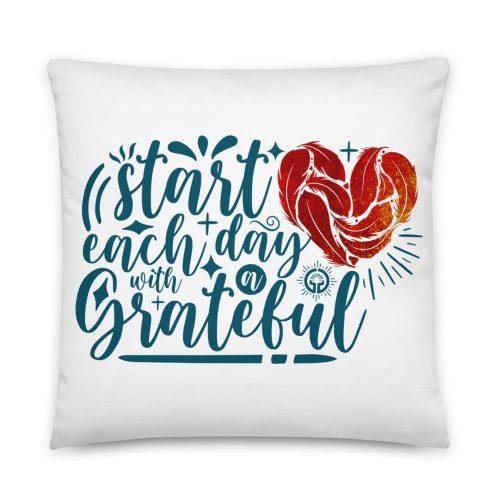 Grateful Heart Basic Pillow