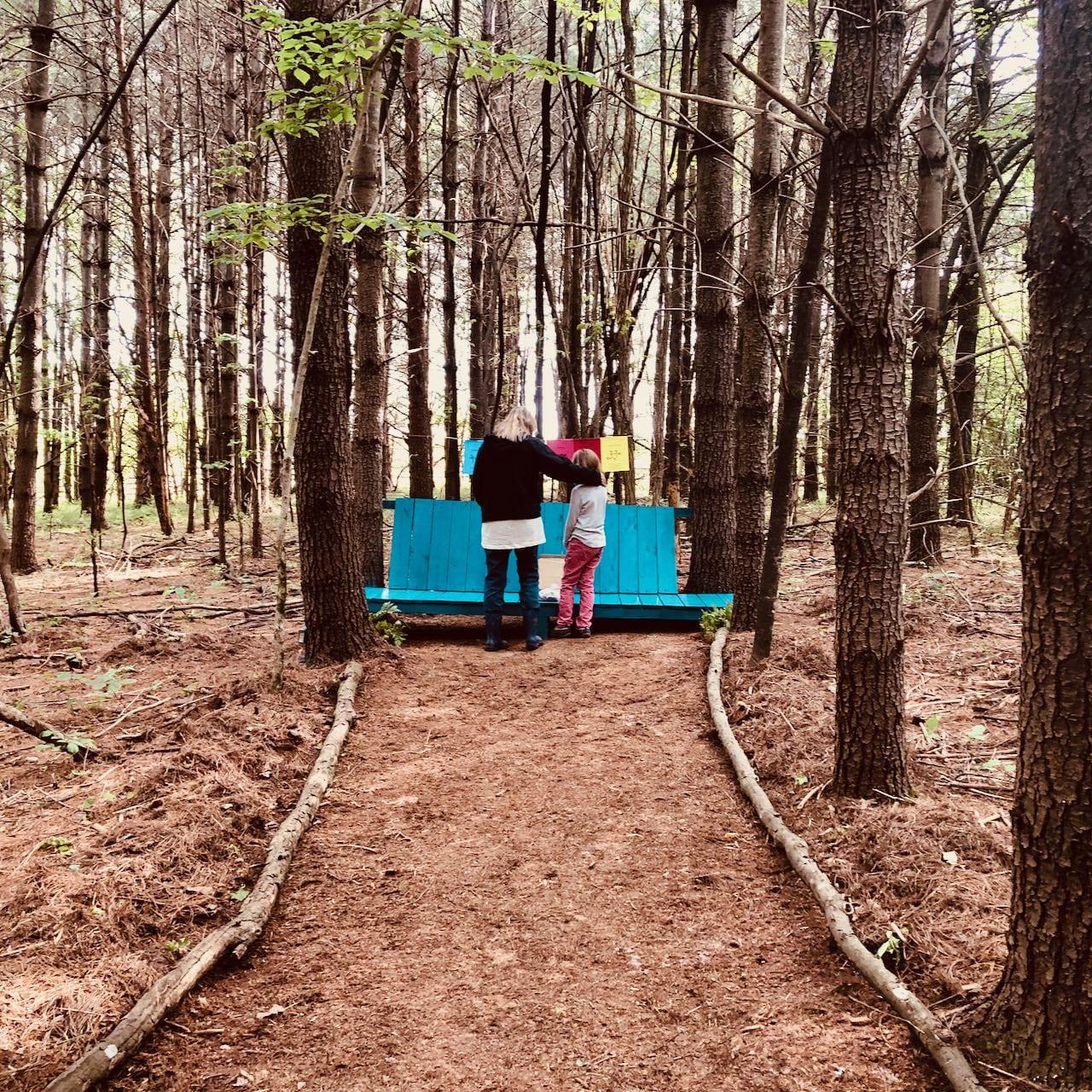 forest labyrinth center