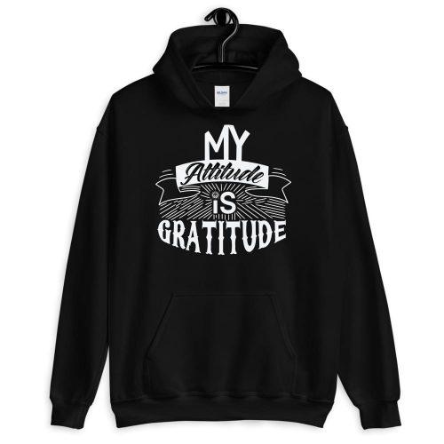 My Attitude is Gratitude Unisex Hoodie