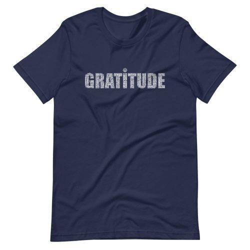 Gratitude Word Cloud Unisex T-Shirt