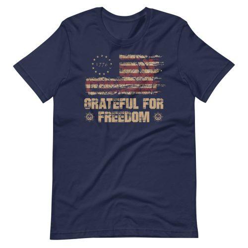 Grateful for Freedom Unisex Tee