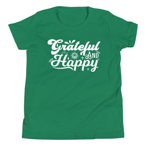 Grateful and Happy Youth Short Sleeve T-Shirt