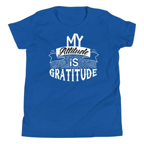 My Attitude is Gratitude Youth T-Shirt