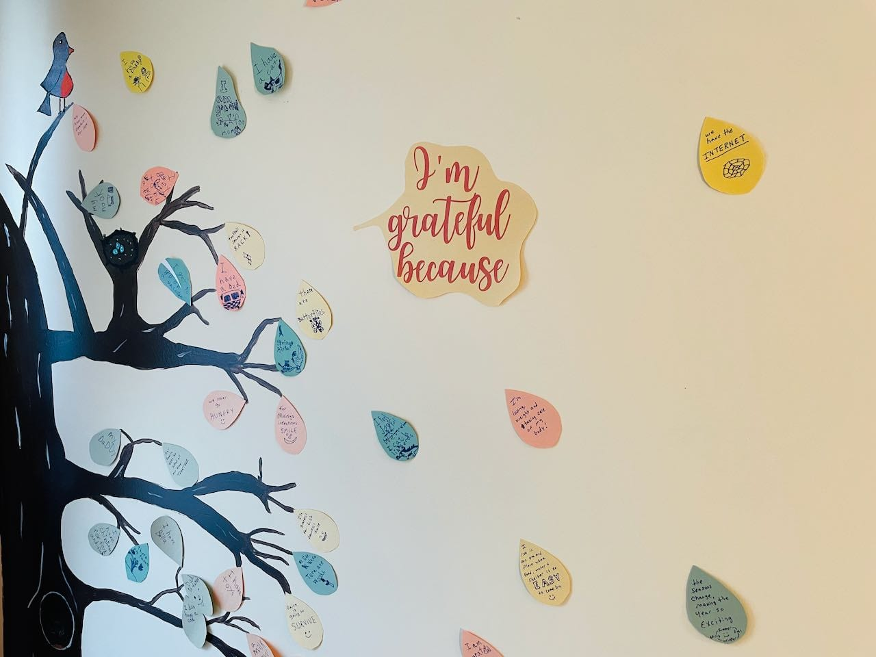 our gratitude tree