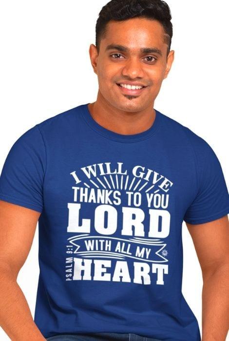 Mens Thank You Lord shirt