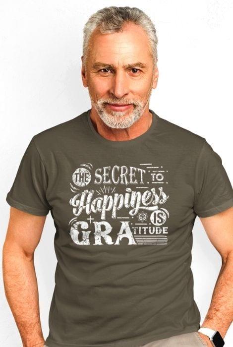 mature man gratitude shirt