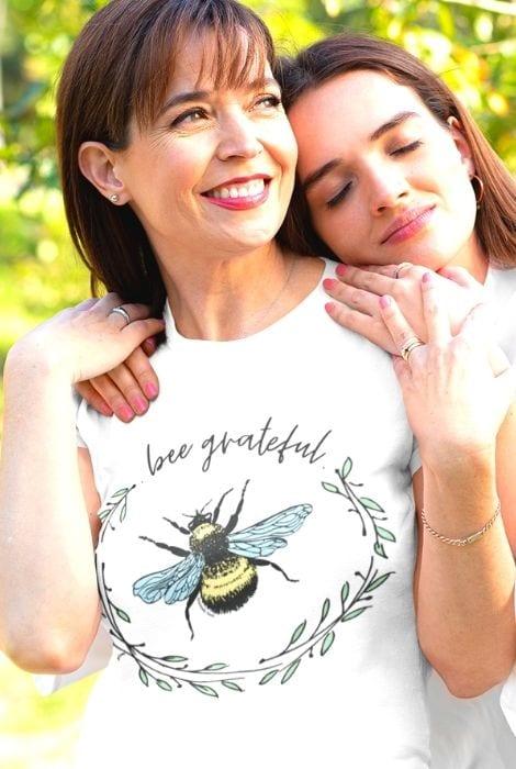 ladies bee design shirt