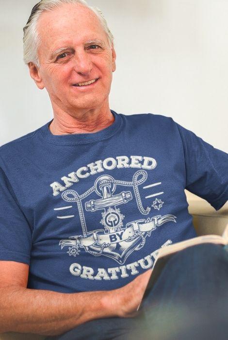 mens gratitude muscle shirt